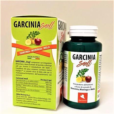 garcinia con 1600 mg di hca per porzione con solo potassio presente in natura
