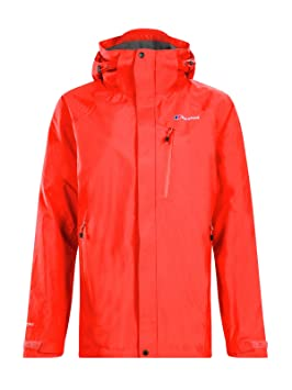 berghaus Skye Chaqueta Impermeable, Mujer, volcán, XL ...