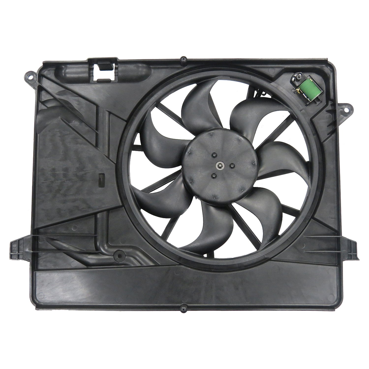 TYC 623550 TYC Replacement Cooling Fan Assembly