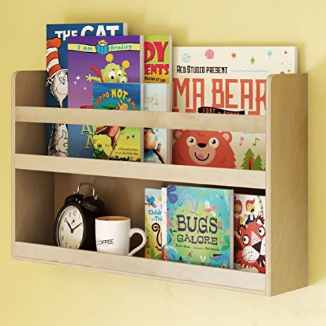Childrenu0027s Kids Room Wall Shelf Wood Material Great For Bunk Bed Nursery  Room Books And Toys