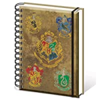 HARRY POTTER Carnet De Note, SR72083, Multicolore