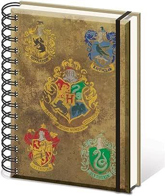 HARRY POTTER - Libreta con escudo de Hogwarts