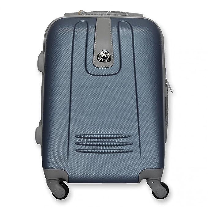 Ormi Carro abs equipaje de mano LUMI azul OR4660 45x35x20cm: Amazon.es: Ropa y accesorios