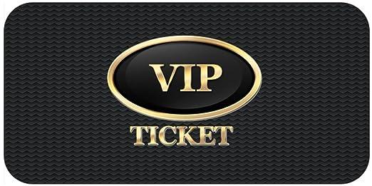 Einladungskarten Als VIP Ticket Einladung Geburtstagseinladungen 30 40 50  61: Amazon.de: Bürobedarf U0026 Schreibwaren