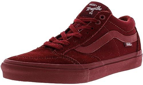 c55d804f99 Vans Men s Tnt Sg Ankle-High Suede Skateboarding Shoe  Vans  Amazon ...