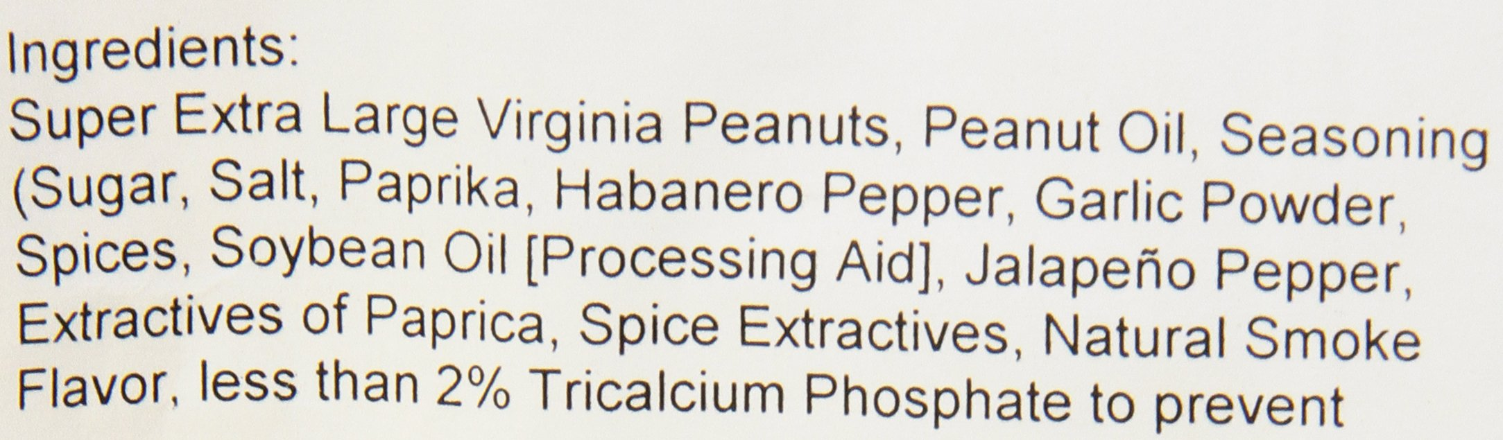 The Peanut Shop of Williamsburg Peanut Bulk Bag, Hot Habanero Spiced Chile Pepper, 10 Pound by The Peanut Shop of Williamsburg (Image #3)