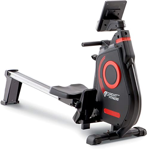 CIRCUIT FITNESS Circuit Fitness Foldable Magnetic Rowing Machine