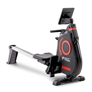 CIRCUIT FITNESS Foldable Magnetic Rowing Machine for Cardio