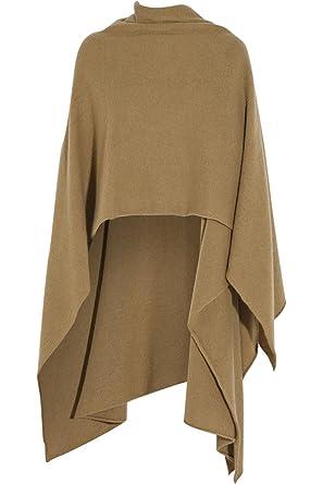 b958b69a957c6 Cashmere Boutique: 100% Pure Cashmere Ruana Shawl (Color: Charcoal Gray,  Size