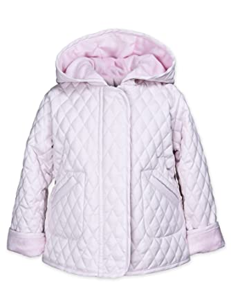 529c1275f Amazon.com  Widgeon Girls  Hooded Barn Jacket Lined with Faux Fur ...