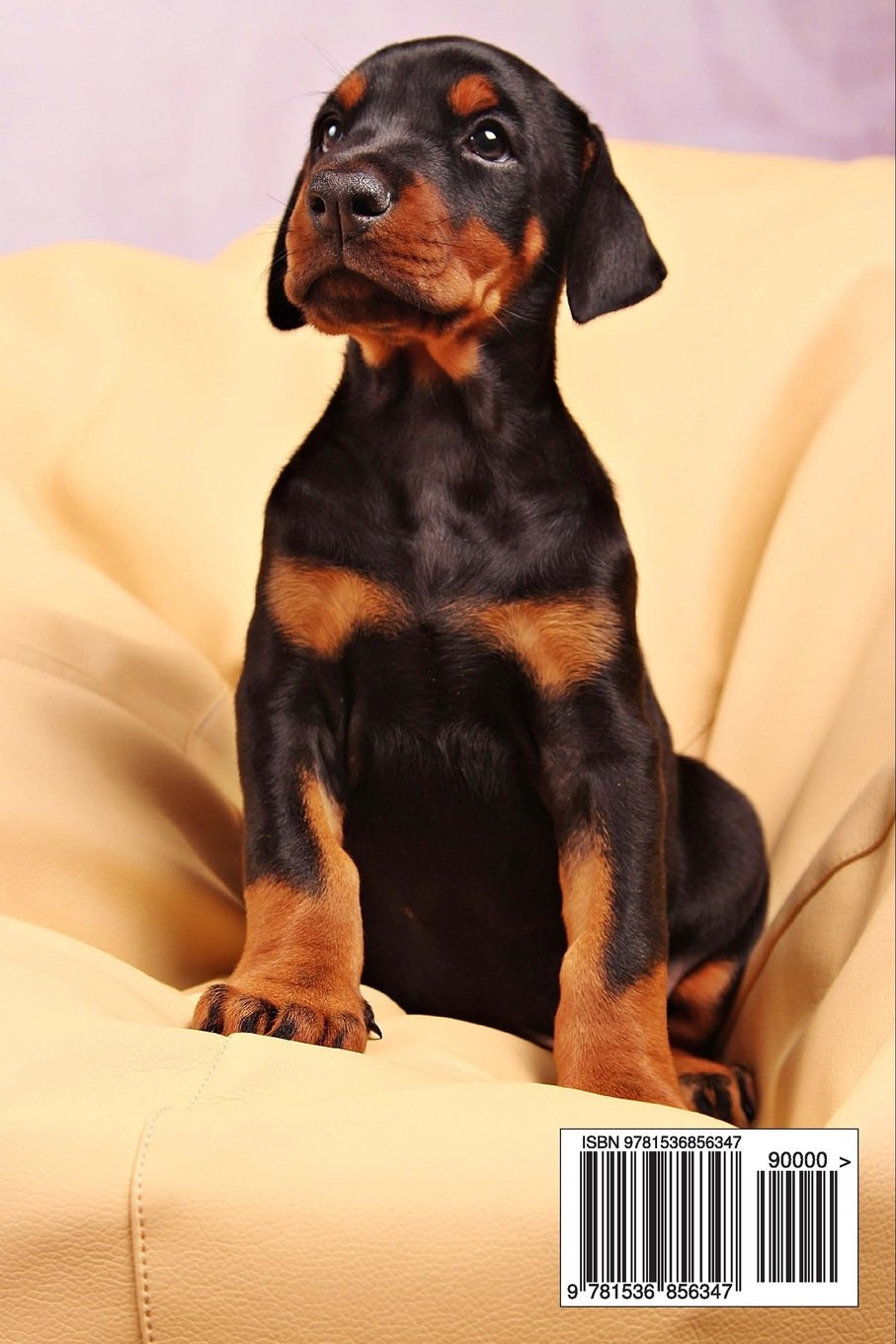 Doberman Puppy Dog Journal: 150 page lined notebook/diary
