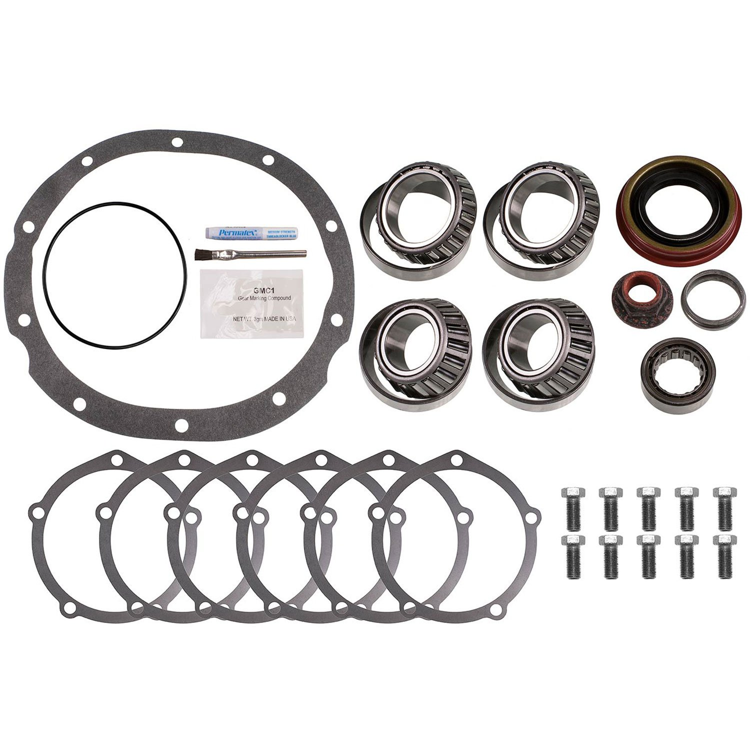 Motive Gear R9R28MKT Master Bearing Kit with Timken Bearings (Ford 9'' 2.891'' BORE LM50131)