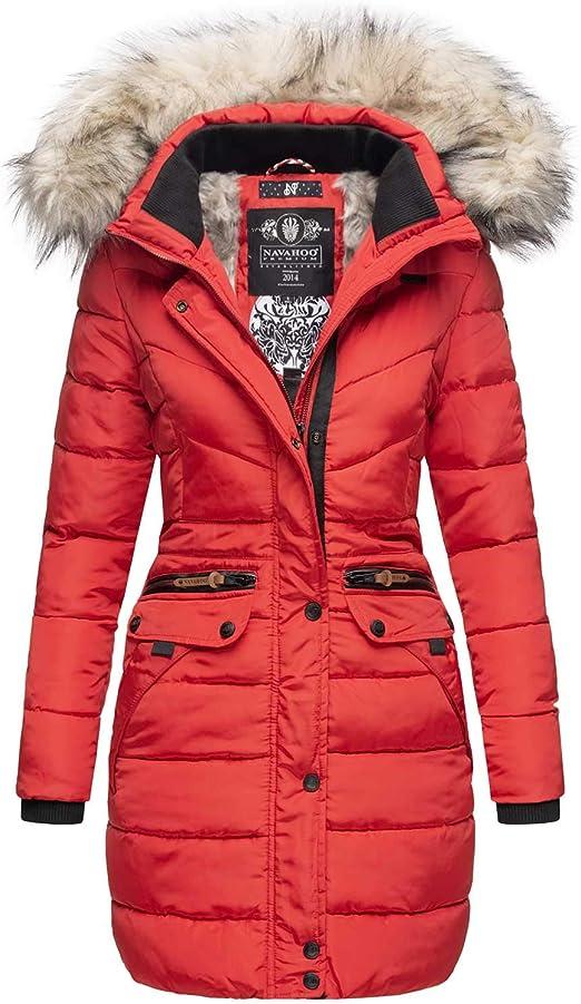 Jacke Damen B383 Mantel Parka Winter gefütterte Navahoo Winterjacke warm hrtsdQ