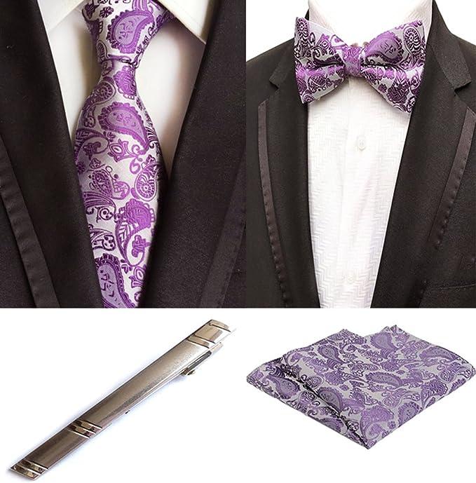 Amazon.com: Para hombre morado fiesta traje de boda para ...