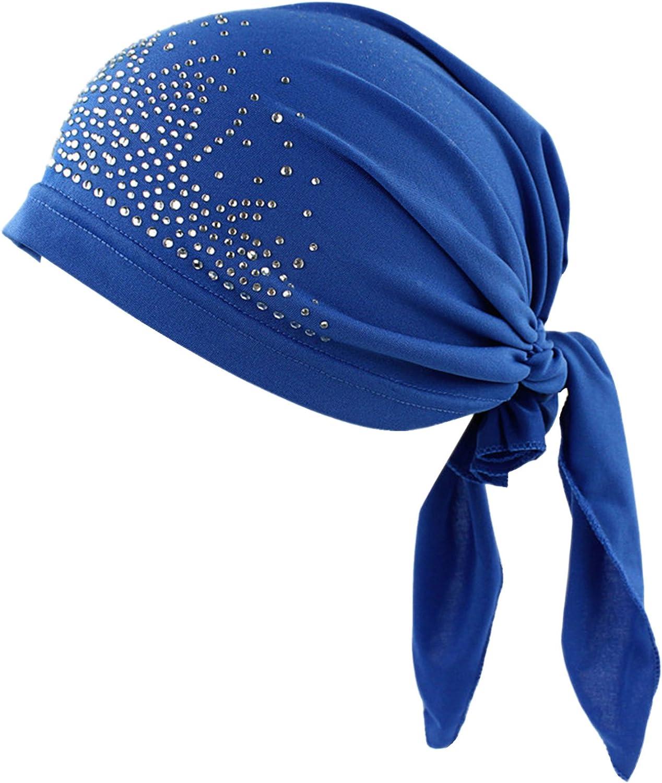 Choose Womensciarpa Pre Legato Chemo Beanie Turbante Headwear per i malati di cancro