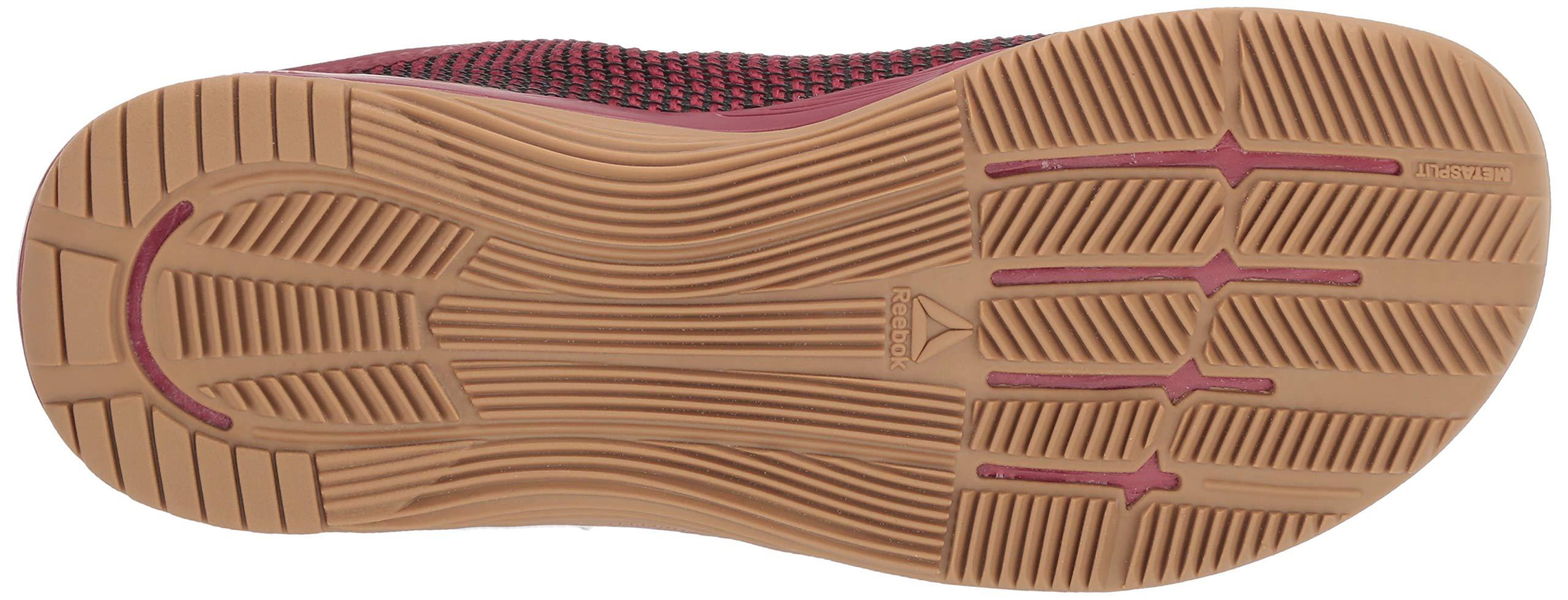 Reebok Women's CROSSFIT Nano 8.0 Flexweave Cross Trainer, Meteor Red/Black/Brass, 5 M US by Reebok (Image #3)