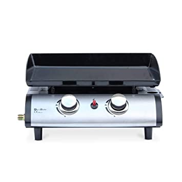 Alice s Garden - Plancha au gaz 2 brûleurs - Porthos - 5 KW, Barbecue, 384d00ee8bf1