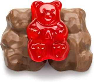 product image for Albanese, Gummi Bears, Chocolate Covered (2 Lbs)