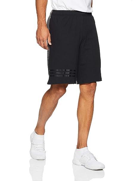 newest collection 1feac 7ec6d adidas, Pantaloncini da Uomo 4krft Gradient, Uomo, CG1497, Nero, XS