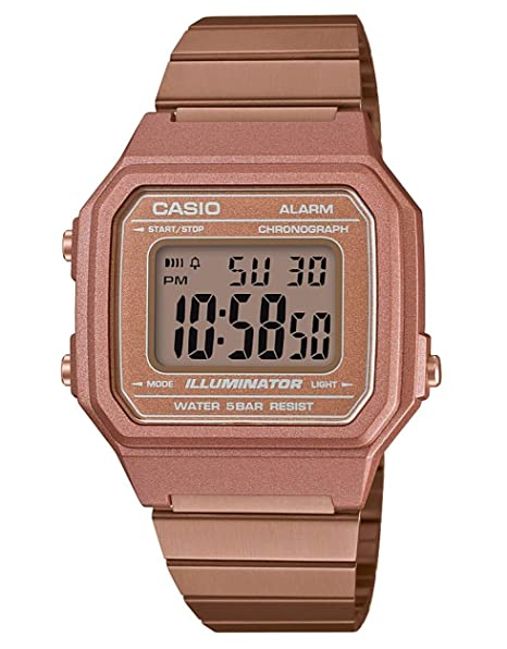 17448e9cc0fe Casio Digitale Quarzo Orologio da Polso B650WC-5AEF  Amazon.it  Orologi