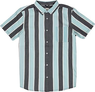Element Camisa Icon Stripes - Algodón: Amazon.es: Ropa y ...