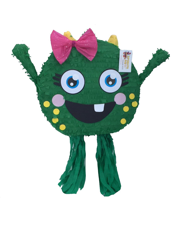 Amazon.com: apinata4u Happy Little Monster Piñata, genial ...