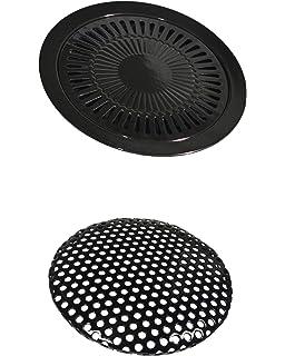 Parrilla adicional para hornillo portátil de gas de 32 cm de diámetro, plancha de barbacoa