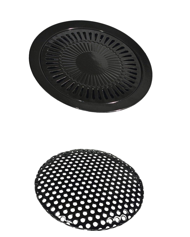 Parrilla adicional para hornillo portátil de gas de 32 cm de ...