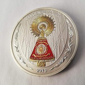 Impacto Coleccionables Medalla De La Virgen Del Pilar Ornamentada