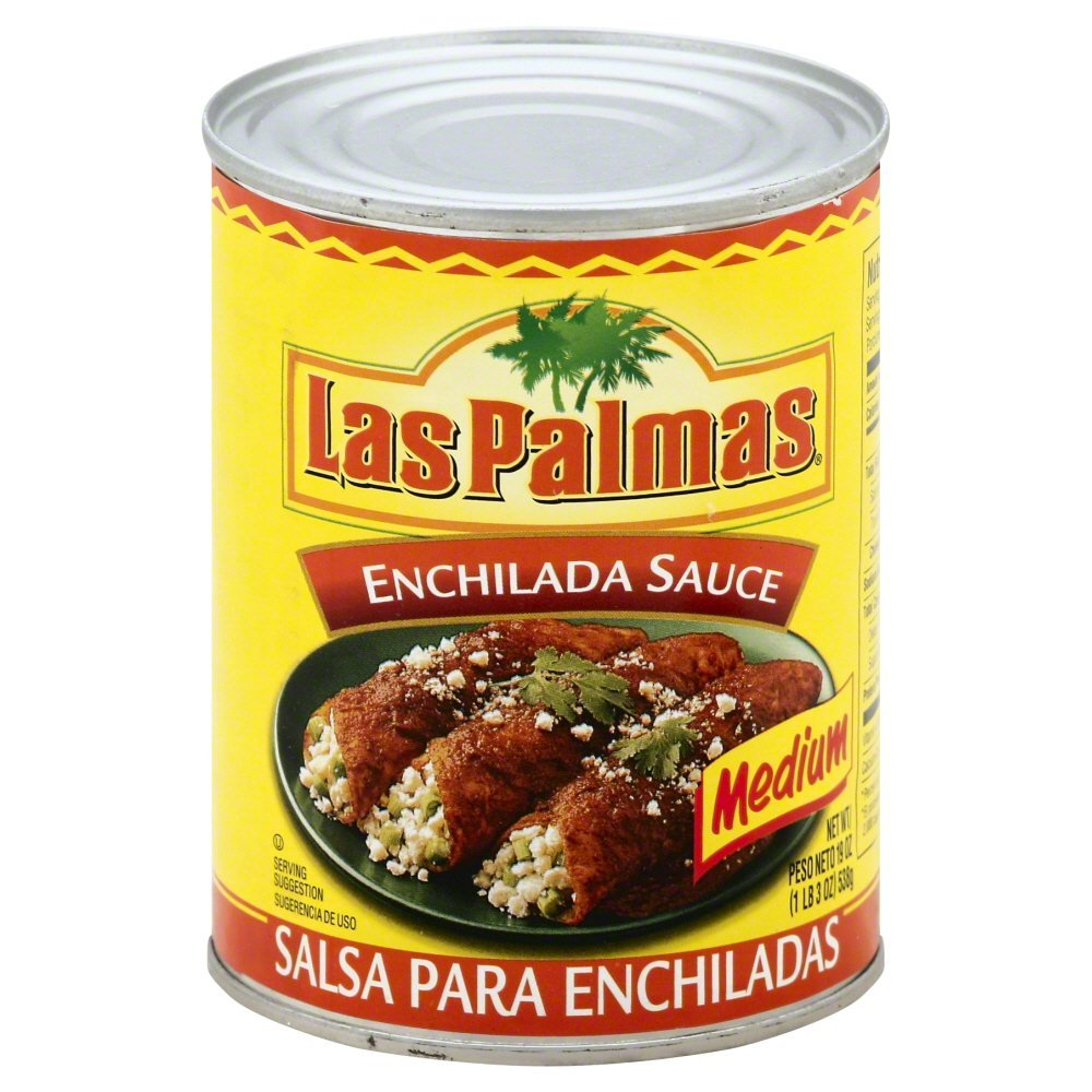 Las Palmas Medium Enchilada Sauce, 19 Ounce - 12 per case.
