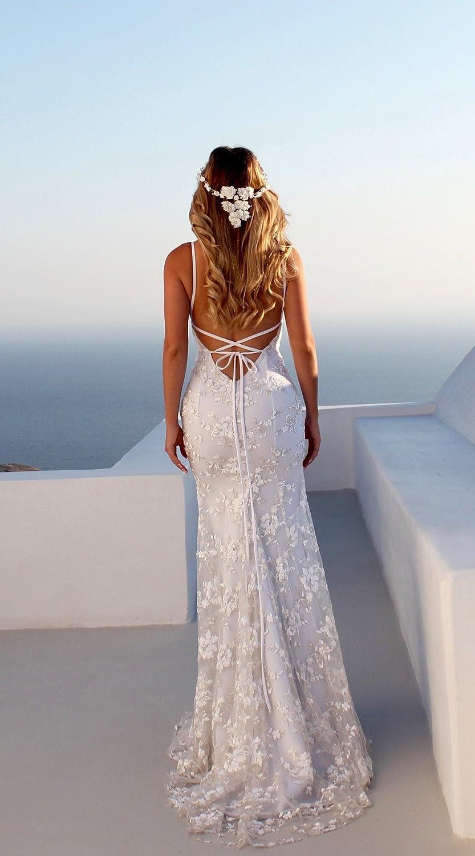 Clothink White V-Neck Open Back Lace Maxi Dress Wedding Party XL: Amazon.co.uk: Clothing
