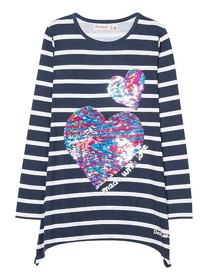 Treffen online zu verkaufen Outlet Store Verkauf Desigual Mädchen Ts_chivite Langarmshirt