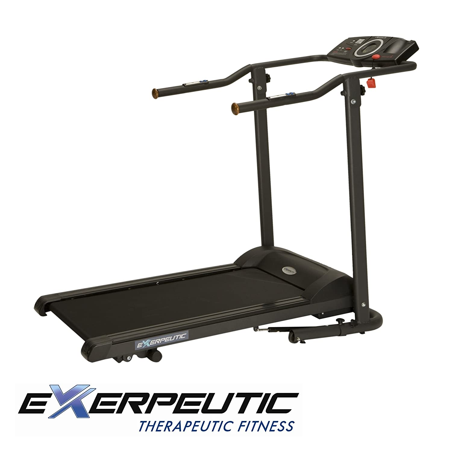 Exerpeutic TF1000 High Capacity Walk To Fitness Electric Treadmill