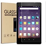 Amazon Kindle Fire HD 8 Screen Protector Tempered Glass Screen Protector for Kindle Fire HD 8 Tablet (7th 2017 Release)