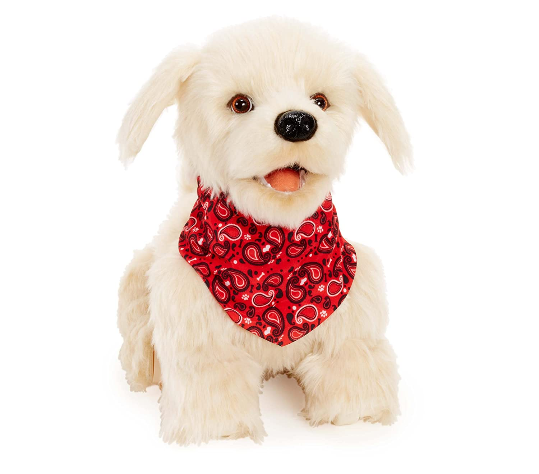 Amazon Georgie Interactive Plush Electronic Puppy Toys & Games