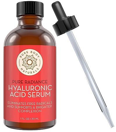 seleziona per ufficiale online bello e affascinante Pure Body Naturals Il Miglior Siero di Acido Ialuronico per il tuo ...