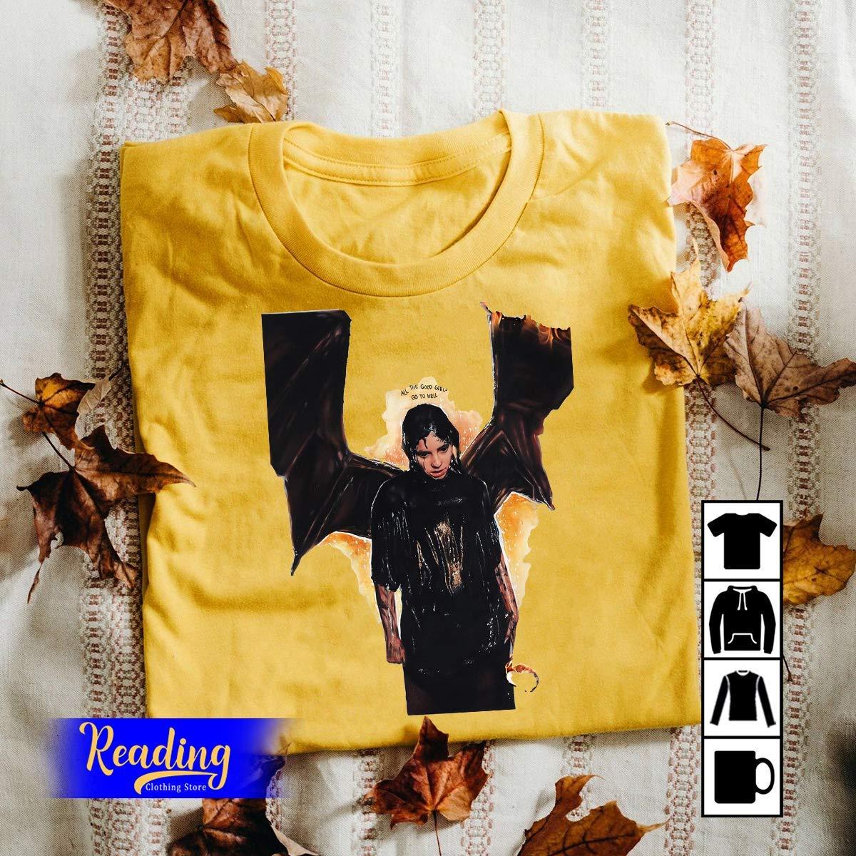 Billie Eilish All The Good Girl Go To Hell Shirts