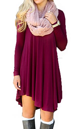 Wander Agio -  Vestito  - Donna Wine Red X-Large