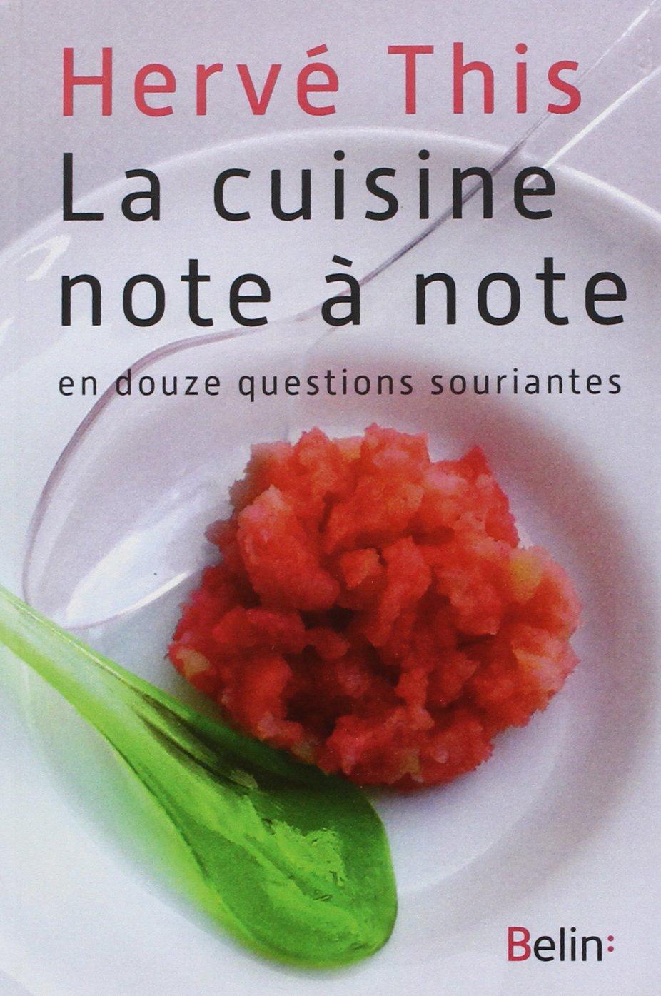 amazon.fr - la cuisine note à note - hervé this - livres - Composer Cuisine En Ligne