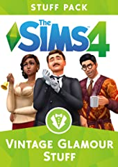 Indulge your Sims in the glamorous life and treat them to an elegant new look with The Sims 4 Vintage Glamour Stuff*. Dress Sims in stunning vintage fashion and accessories then try on makeup at the vanity table. Decorate with high-end...