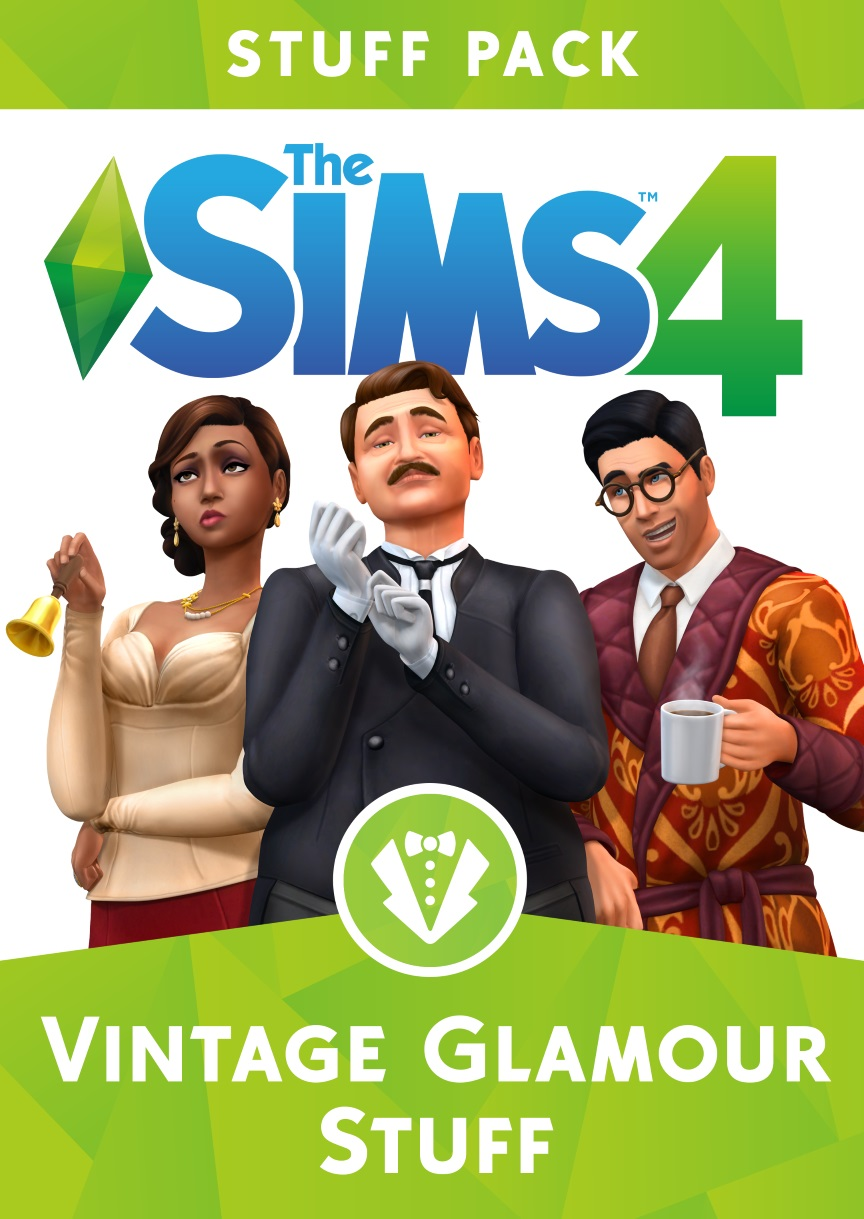 - The Sims 4 Vintage Glamour Stuff [Online Game Code]