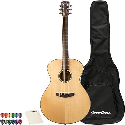 Breedlove solo guitarra CE rojo cedar-east madera de palisandro ...