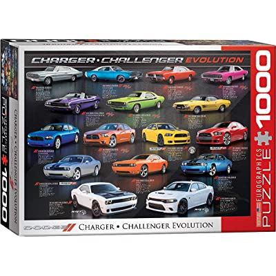 EuroGraphics Dodge Charger Challenger Evolution 1000-Piece Puzzle, 6000-0949: Toys & Games