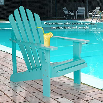 Merveilleux Teal Adirondack Chair Classic Look You Love The Ergonomic Design Features  Wide Arms High Back Support