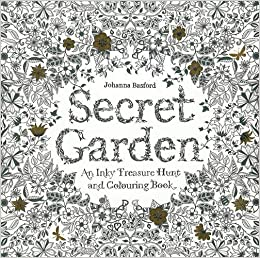 Secret Garden An Inky Treasure Hunt And Colouring Book Amazonco