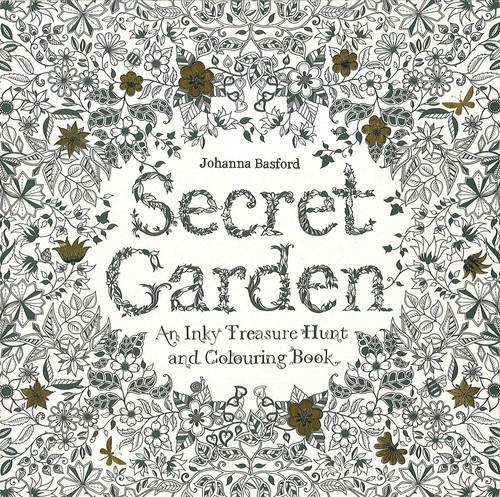 Secret Garden Inky Treasure Coloring product image