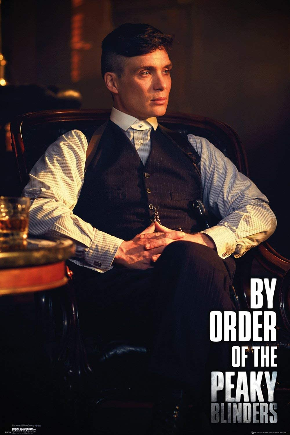 PEAKY BLINDERS TOMMY SHELBY 91.5 X 61CM  POSTER NEW OFFICIAL MERCHANDISE
