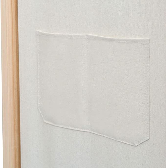 Kiefer 120x170cm Trennwand Paravent Spanische Wand vidaXL Raumteiler 3-TLG