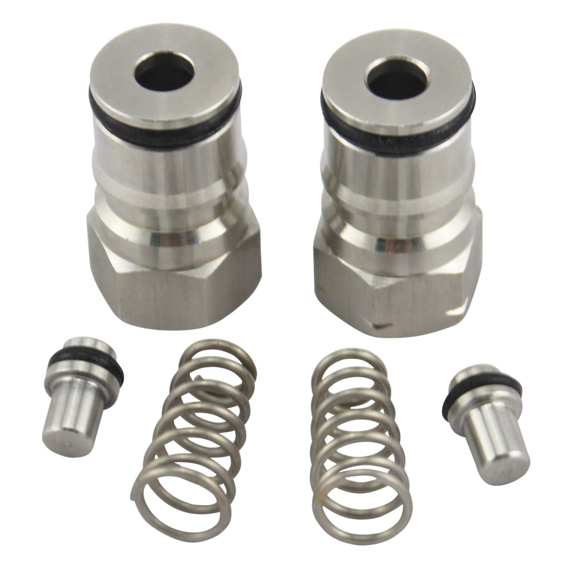 The Weekend Brewer Ball Lock Keg Posts Set Stainless Steel (Both)