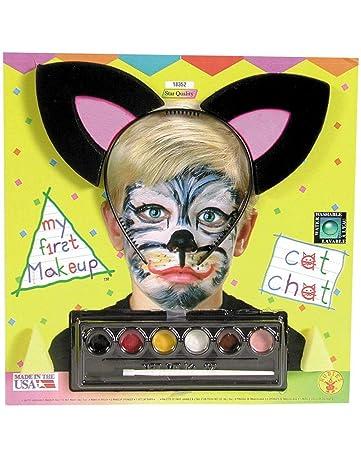 Horror Shop Schwarz Weiss Make Up Set Fur Fasching Halloween